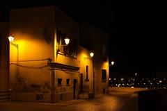 Bari, nightly summer rain