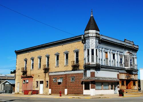 G.W. Fessel Block building - Muscoda, Wisconsin