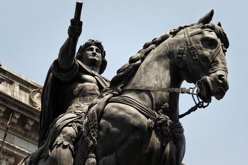 El Caballito, Estatua Ecuestre de Carlos IV