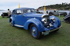 Bentley 4-1/4 Litre Vanvooren Pillarless Saloon, 1939. [PB 2019 DSC_1206].