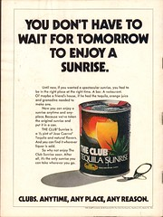 1974 The Club Jose Cuervo Advertisement People Magazine August 5 1974
