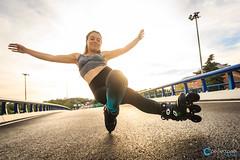 Miriam Fatmi Freestyle Slalom Rollerskater
