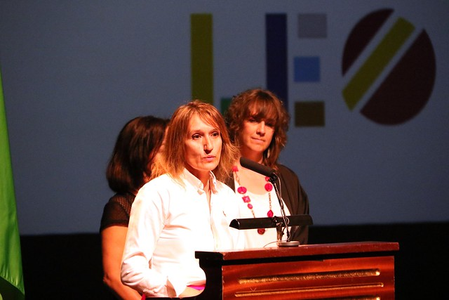 La Consejera de Educación de la Junta de Castilla y León recoge su reconocimiento