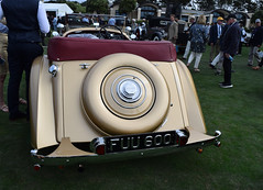 Bentley 4 1/4 Litre Vanden Plas Drophead Tourer, 1939. [PB 2019 DSC_1188].