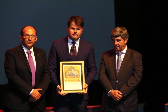 El Presidente de AJE recoge su reconocimiento