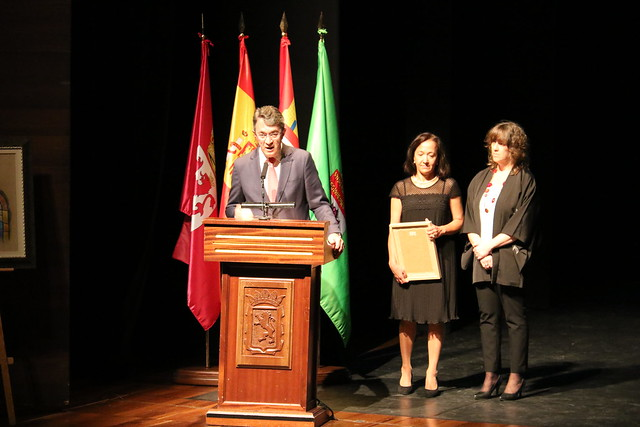 El Delegado Territorial de la Junta de Castilla y León recoge su reconocimiento