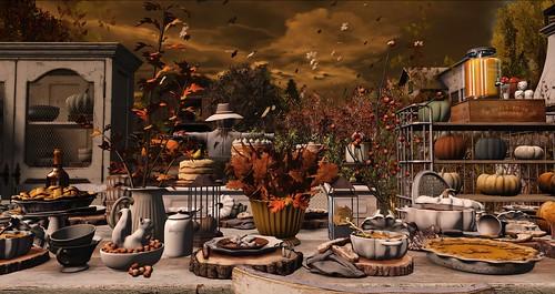 Autumn Al Fresco....
