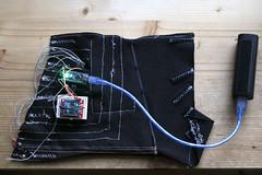 Forearm Wireless Audiovisual Instrument