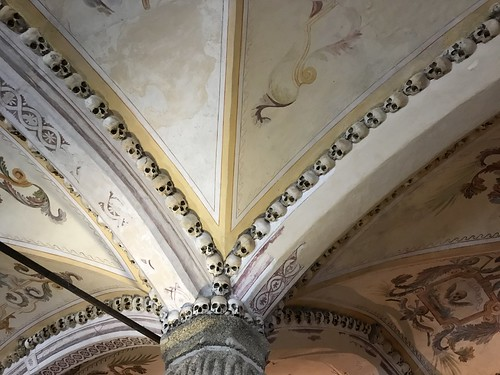 68. Chapel of the Bones in the Church of Sao Francisco, Evora, Portugal