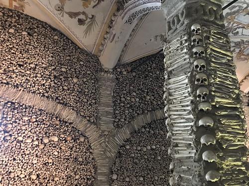67. Chapel of the Bones in the Church of Sao Francisco, Evora, Portugal