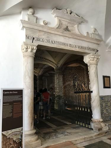 64. Chapel of the Bones in the Church of Sao Francisco, Evora, Portugal