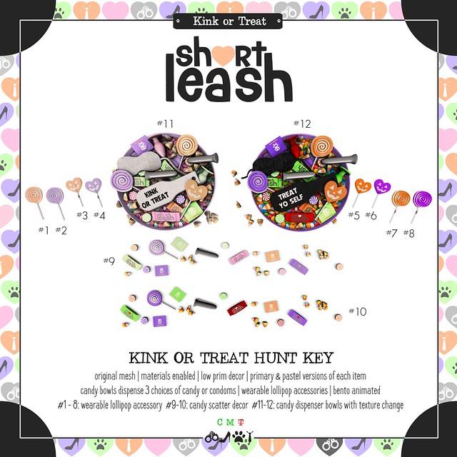 .:Short Leash:. Kink or Treat Hunt 2019