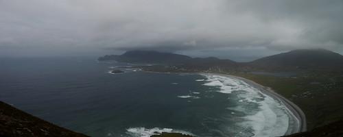 Achill Island seen from Minaun