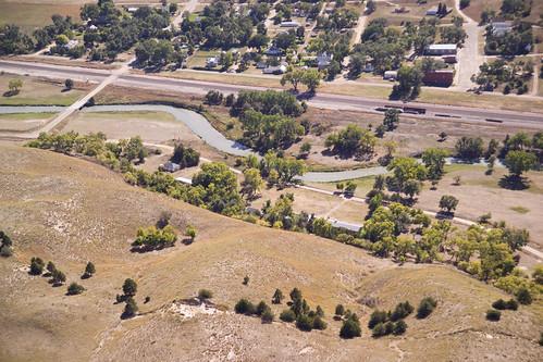 Aerial View of the Sandhills, Nebraska 100705