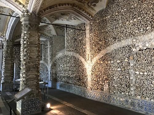 69. Chapel of the Bones in the Church of Sao Francisco, Evora, Portugal