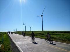 Wind farm and RAGBRAI