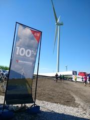 MidAmerican wind farm and RAGBRAI