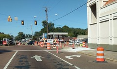 Commerce St. closed in Hernando