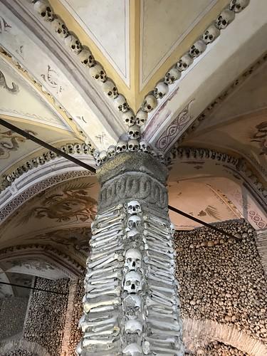66. Chapel of the Bones in the Church of Sao Francisco, Evora, Portugal