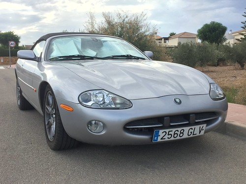 Jaguar XK8. Los Gallardos, Spain. September 2019