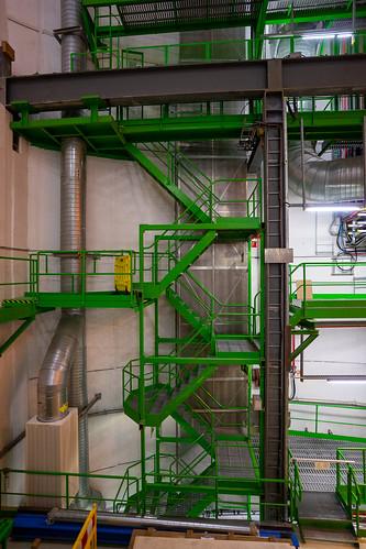 CERN: Green stair case (3/3)