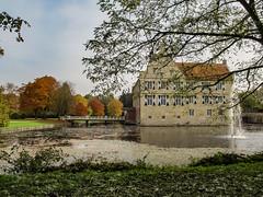 Bunte Burg Hülshoff im Münsterland