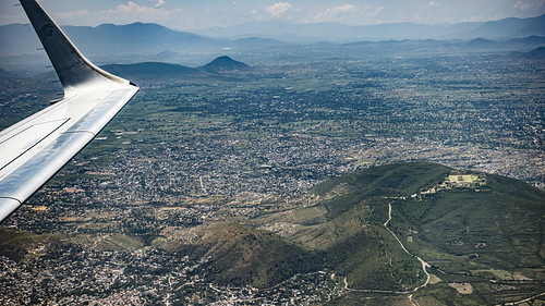 2019-08-31-133835_San Jacinto Amilpas_Flug AM2049 OAX-MEX
