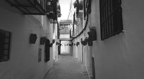 Calle Los Rosales en Beas de Segura. Jaén