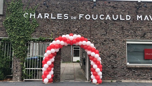 Ballonboog 6m Diplomering Charles de Foucauld Spijkenisse Geslaagd