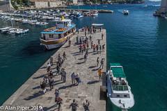 Dubrovnik harbour - Arrivals