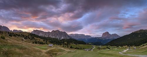 *The sky over the Val Gardena*