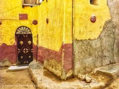Egyptian houses-Elephantine Island, Aswan