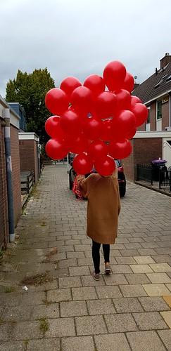 heliumballonnen rood
