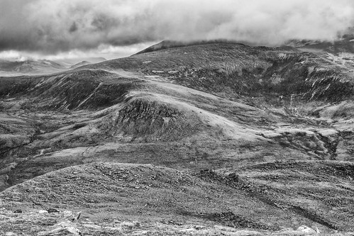 northern slopes of An Teallach