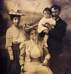 Baby Frank Griffin & Family, 1906