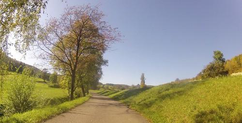 Ampfernhöhe und Rheintal