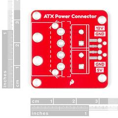 SparkFun ATX Power Connector Breakout Board