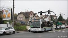 Mercedes-Benz Citaro C2 – Hourtoule (Groupe Lacroix) / STIF (Syndicat des Transports d'Île-de-France) / Plaine de Versailles n°H301 - Photo of Pontoise