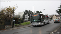 Mercedes-Benz Citaro C2 – Cars Lacroix / STIF (Syndicat des Transports d'Île-de-France) n°965 - Photo of Méry-sur-Oise