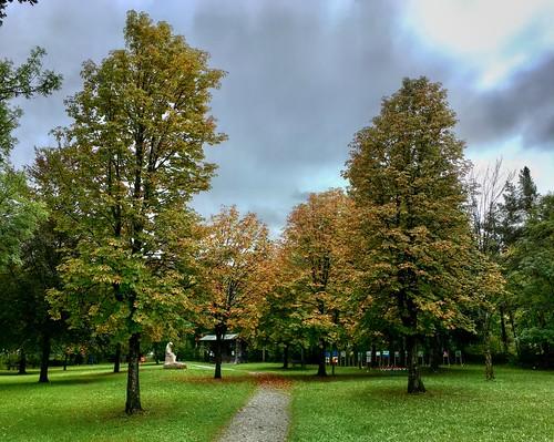 Kohlstatt Park in Kiefersfelden, Bavaria, Germany