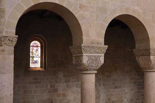 Quedlinburg, Stiftskirche St. Servatii, Säulen