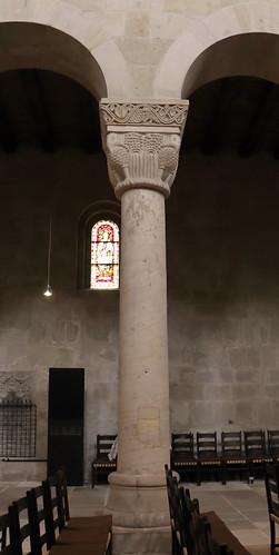Quedlinburg, Stiftskirche St. Servatii,  Säule