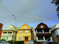 Rainbow in Brooklyn