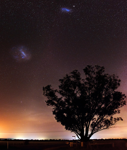 Magellanic Clouds at Harvey, Western Australia