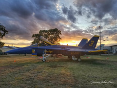 Forth Aviation Museum - After Sunset