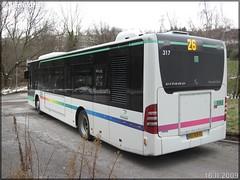 Mercedes-Benz Citaro – TPAS (Transports Publics de l'Agglomération Stéphanoise) (Veolia Transport) / STAS (Société de Transports de l'Agglomération Stéphanoise) n°317 - Photo of Saint-Jean-Bonnefonds