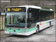 Mercedes-Benz Citaro – TPAS (Transports Publics de l'Agglomération Stéphanoise) (Veolia Transport) / STAS (Société de Transports de l'Agglomération Stéphanoise) n°317 - Photo of La Tour-en-Jarez