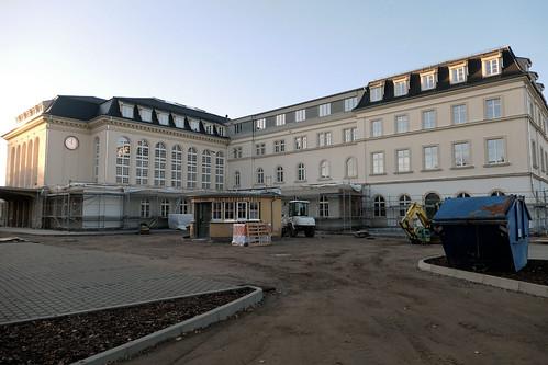 Empfangsgebäude Bf Bautzen Oktober 2019