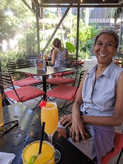 Janine With Riverwalk Drinks