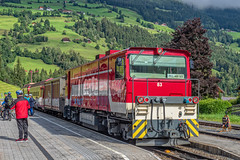 Pinzgauer Lokalbahn - Bahnof Krimml - Salzburg - AT